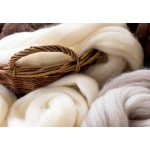 Луксозна възглавница от овча вълна - АМБЪР от StyleZone