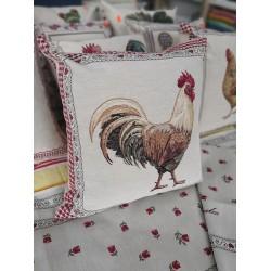 Испанска декоративна калъфка за възглавница с цип - ПЕТЕЛ от StyleZone