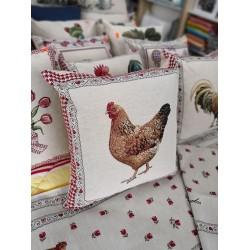 Испанска декоративна калъфка за възглавница с цип - КОКО от StyleZone