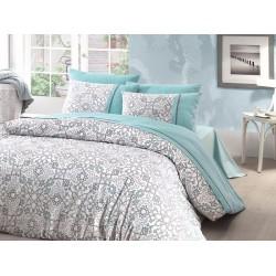 Лимитирана колекция спално бельо от 100% памук - BEARRIZ TURKUAZ от StyleZone