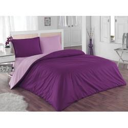 Двулицево шалте 100% памук (светлолилаво/тъмнолилаво) от StyleZone