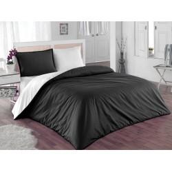 Двулицево шалте 100% памук (бяло/черно) от StyleZone