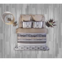 Спално бельо от 100% памук с олекотена завивка - РЕТРО от StyleZone
