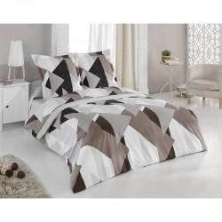 Спално бельо от 100% памук с олекотена завивка - ШОКОЛАД от StyleZone