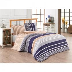Спално бельо от 100% памук с олекотена завивка - БЕРТО от StyleZone