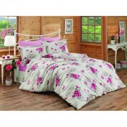 Спално бельо от 100% памук с олекотена завивка - ПАОЛА от StyleZone