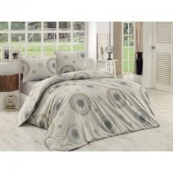 Спално бельо от 100% памук с олекотена завивка - БЛЯН от StyleZone