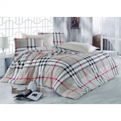 Спално бельо от 100% памук с олекотена завивка - БЪРБАРИ от StyleZone