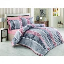Спално бельо от 100% памук с олекотена завивка - ДЕБОРА от StyleZone