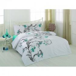 Спално бельо от 100% памук с олекотена завивка - ИНЕС от StyleZone