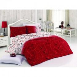 Спално бельо от 100% памук с олекотена завивка - КАРМИНА от StyleZone