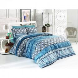 Спално бельо от 100% памук с олекотена завивка - КАРОЛИН от StyleZone