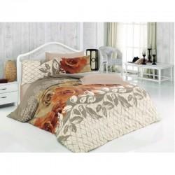 Спално бельо от 100% памук с олекотена завивка - КЛАРИН от StyleZone