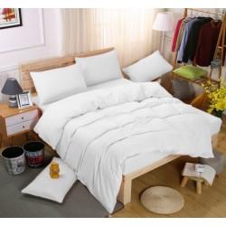 Едноцветно спално бельо със завивка -  БЯЛО от StyleZone
