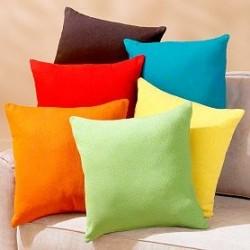 Едноцветна калъфка 45/45 от 100% памук ранфорс от StyleZone