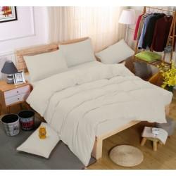 Едноцветно спално бельо със завивка -  ЕКРЮ от StyleZone