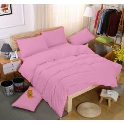 Едноцветно спално бельо със завивка -  БЕЙБИ РОЗОВО от StyleZone