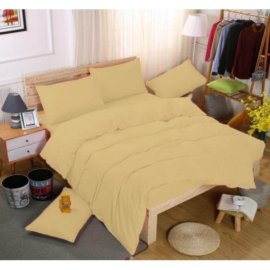 Едноцветно спално бельо със завивка -  КАНЕЛА от StyleZone