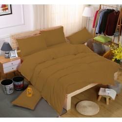 Едноцветно спално бельо със завивка -  ТЮТЮН от StyleZone