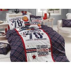 Юношеско спално бельо делукс от 100% памук  - All star от StyleZone