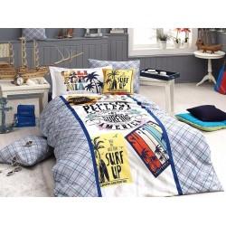 Юношеско спално бельо делукс от 100% памук  - Surf от StyleZone