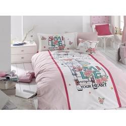 Юношеско спално бельо делукс от 100% памук  - Smile от StyleZone