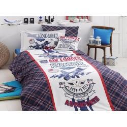 Юношеско спално бельо делукс от 100% памук  - Eviator от StyleZone