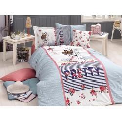Юношеско спално бельо делукс от 100% памук  - Pretty от StyleZone
