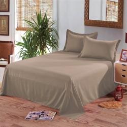 Едноцветен долен чаршаф от 100% памук - ЦВЯТ БОЗА от StyleZone