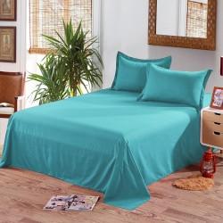 Едноцветен долен чаршаф от 100% памук - ЦВЯТ МЕНТА от StyleZone