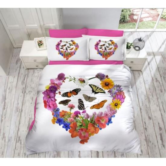 3D Спално Бельо Памучен Сатен - Bahar от StyleZone