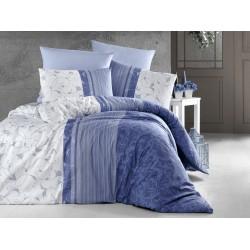 Лимитирана колекция спално бельо от 100% памук - PEITRA LACIVERT от StyleZone