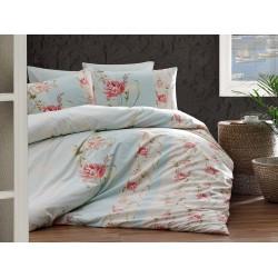 Лимитирана колекция спално бельо от 100% памук - SARAVIN MINT от StyleZone