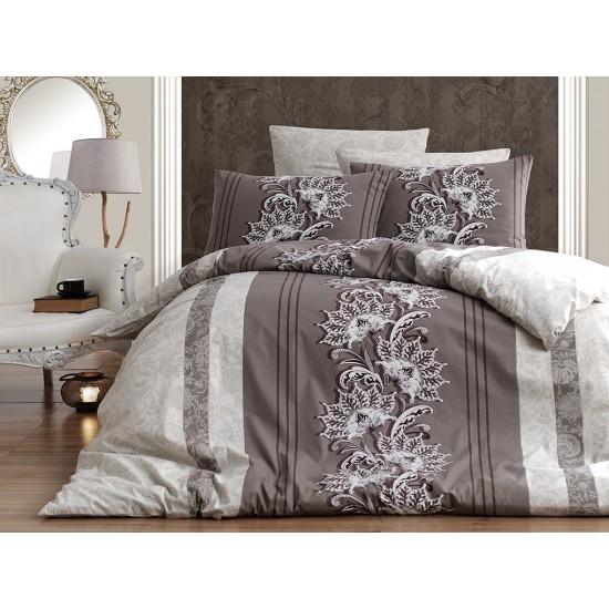 Лимитирана колекция спално бельо от 100% памук - NELL KAHVE от StyleZone