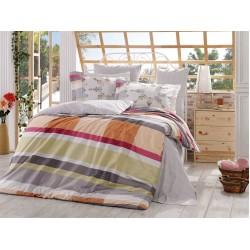 Луксозно спално бельо от 100% памук поплин - ALANZA GREY от StyleZone