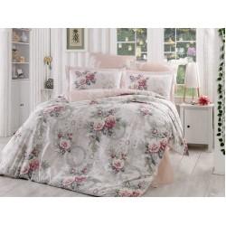 Луксозно спално бельо от 100% памук поплин - CLEMENTINA GULKURUSU от StyleZone