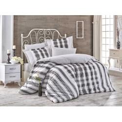 Луксозно спално бельо от 100% памук поплин - DEBORA SIYAH от StyleZone