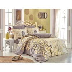 Луксозно спално бельо от 100% памук поплин - MIRELLA CAPPUCCINO от StyleZone