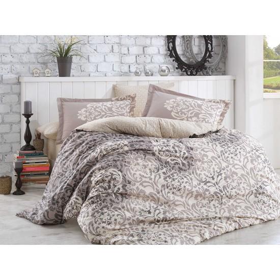 Луксозно спално бельо от 100% памук поплин - SERENITY GRI от StyleZone