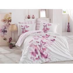Луксозно спално бельо от 100% памук поплин - SUENO LILA от StyleZone