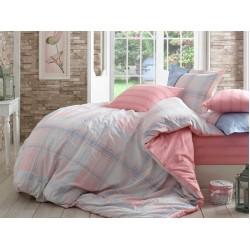 Луксозно спално бельо от 100% памук поплин - CARMELA PEMBE от StyleZone