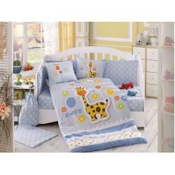Бебешко спално бельо от 100% памук поплин - PUFFY MAVI от StyleZone