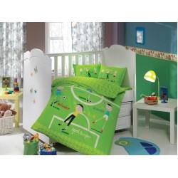 Бебешко спално бельо от 100% памук поплин - SOCCER от StyleZone