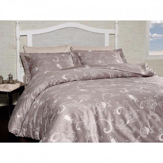 Спално бельо от сатениран памук с два плика - CARMINA VIZON от StyleZone