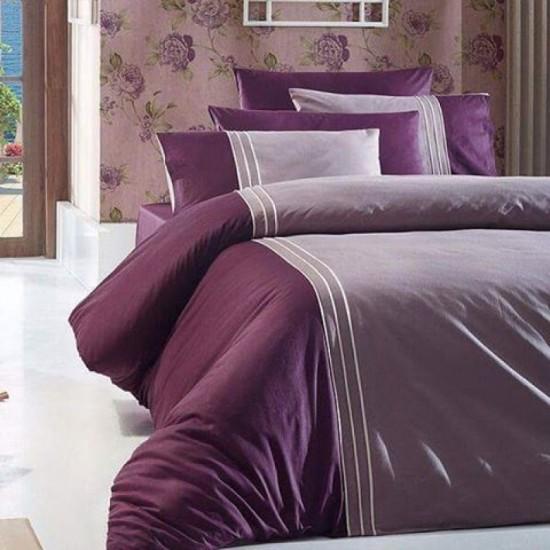 Спално бельо от сатениран памук с два плика -  CRAZE LEYLYAK от StyleZone