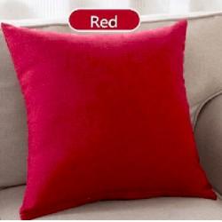 Испанска декоративна калъфка за възглавница с цип - ЧЕРВЕНО от StyleZone