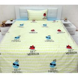 Юношеско спално бельо от 100% памук - Фрути от StyleZone
