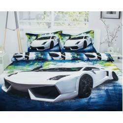 Юношеско спално бельо от 100% памук - Ламбо от StyleZone