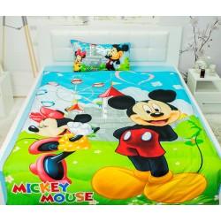 Юношеско спално бельо от 100% памук - Мики и Мини от StyleZone