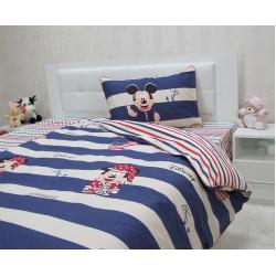 Юношеско спално бельо от 100% памук - Мики Райе от StyleZone